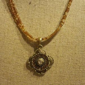 SUNSHINE Retired lia sophia necklace